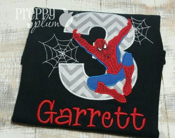 The Amazing Spider Man Birthday Shirt