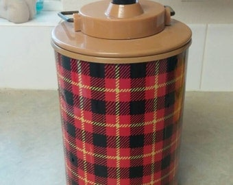 On Sale Mid Century The Scotch Jug Hamilton Metals Thermos or Water Bottle
