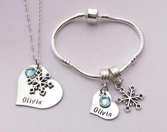 Personalised girls birthday present - personalized girls birthday gift - daughter gift present- personalized girls jewelry - girls jewellery