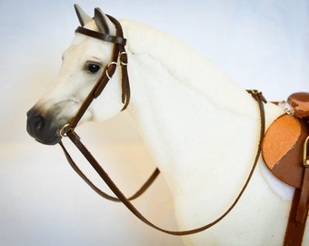 Traditional Breyer Model Horse Bridle (Made To Order)
