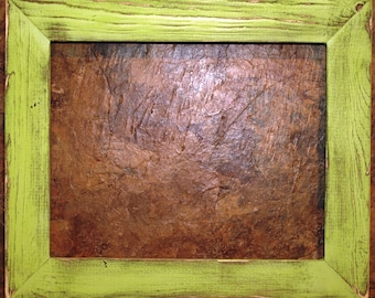 """1-1/2"""" Pale Green Distressed Picture Frame"""