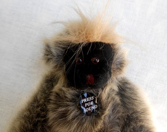 Adorable Monkey to Hang Anywhere.