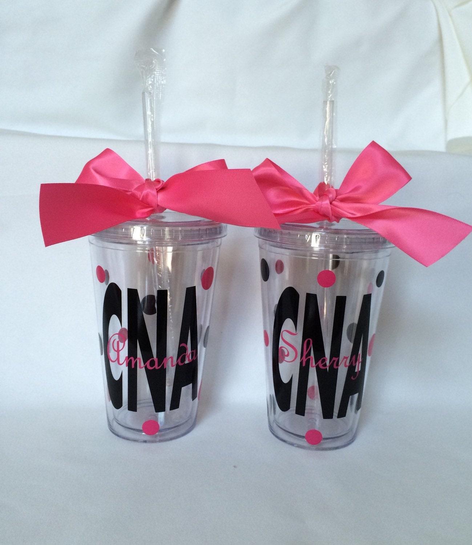Cna tumbler nursing student lpn gift nurse tumbler nurse for Gift ideas for assistants