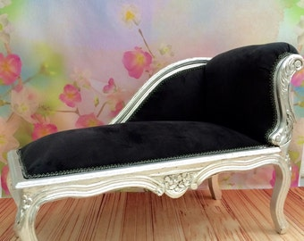 French Baroque Kids Chaise Lounge (Free Shipping)