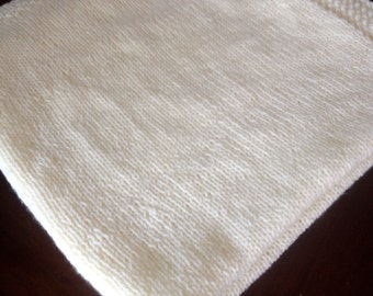 Simply perfect baby blanket