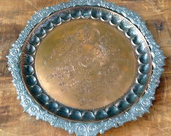 Elegant Copper Tray