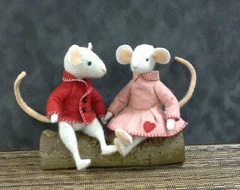 Thornton and Rosie - mouse PDF pattern