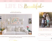 Life Is Beautiful Blogger Template
