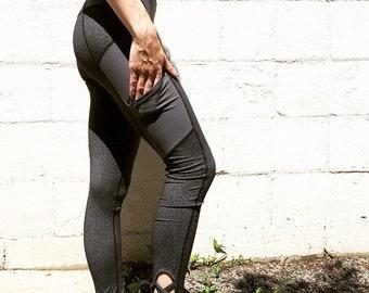 Corset & Cargo Pocket Legging - All Day Yoga Legging Active Legging Running Legging Everyday Legging Outdoor Legging with Pockets
