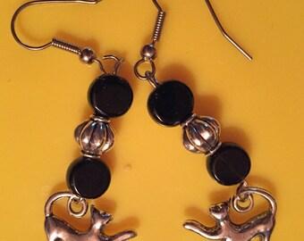 Cool Kitty Earrings