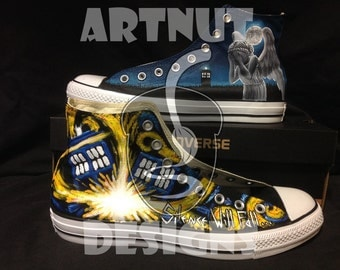 Doctor Who Custom Shoes