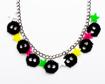 Soot Sprite charm necklace