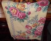c-vintage barkcloth fabric