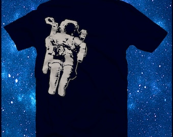 Astronaut  Galaxy Outer Space Tee