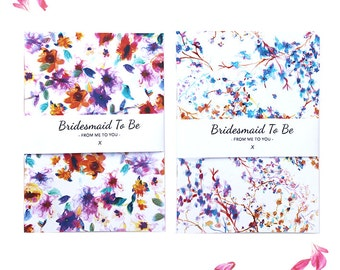 A5 Bridesmaid To Be Notebooks