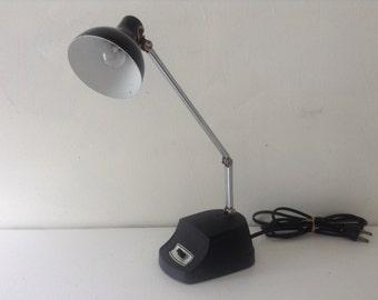 Vintage Black Posebale Desk Lamp
