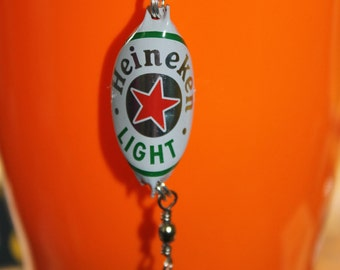 Heineken Light Bottle Cap Fishing Lures