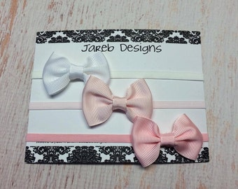 Delicate bow headband 3 pack