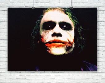 The Joker Art Print Poster