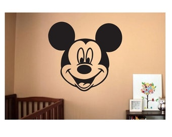 Mickey Mouse Wall Decal   Sticker Large Kids Bedroom Big Fun Nursery Custom  Kid Boy Or Part 23