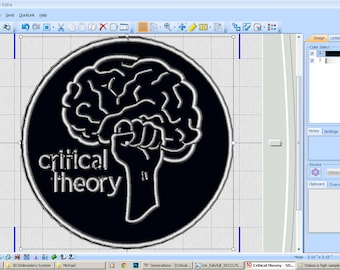 Critical Theory - Iron-on patch