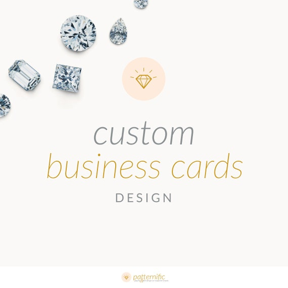 Custom Business Cards Design Bespoke Business by patternific