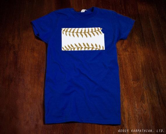 Kansas baseball Ladies junior fit t shirt