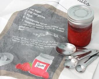 JamJam Cookie Recipe Tea Towel