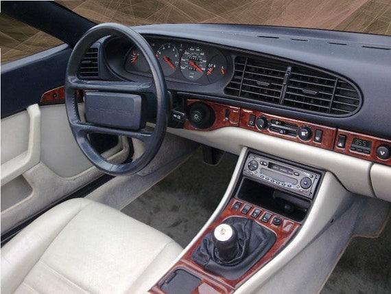 dash trim kit fits porsche 968 1992 1993 1994 1995 interior. Black Bedroom Furniture Sets. Home Design Ideas