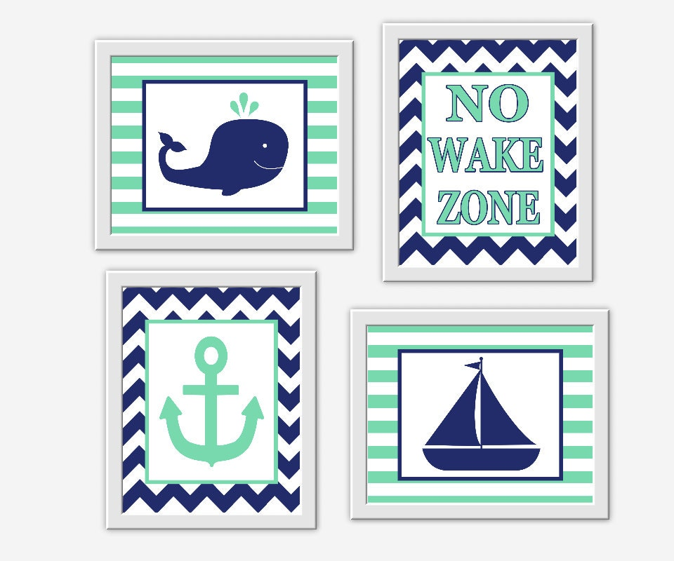 navy blue nautical nursery art whale by dezignerheartdesigns. Black Bedroom Furniture Sets. Home Design Ideas