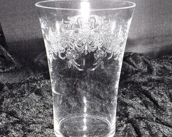 Set of Seven (7) Crystal Tumblers