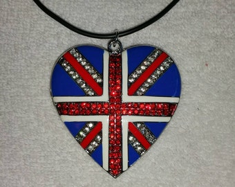 Large Union Jack Heart