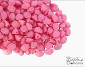 50 pcs Vexta Soft Pink Czech Glass Pinch Beads Classic 5x3,5 mm (9593)