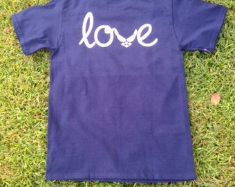 Monogrammed Air Force LOVE Shirt