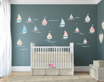 Boat Wall Decal Etsy UK - Decals for boats uk