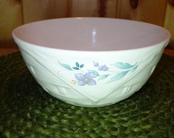 Beautiful Pfaltzgraff Serving Bowls / April Pattern