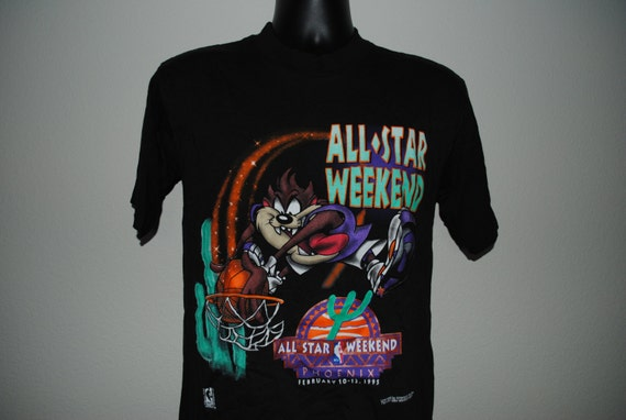 1994 Taz Slam Dunk Vintage 90 39 S Nba All Star Weekend 1995