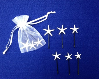 Starfish Bobby Pins (Set of 3)