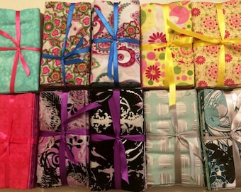 Fabric Palette 5 Piece Fat Quarter Bundles! 10 Choices! SALE