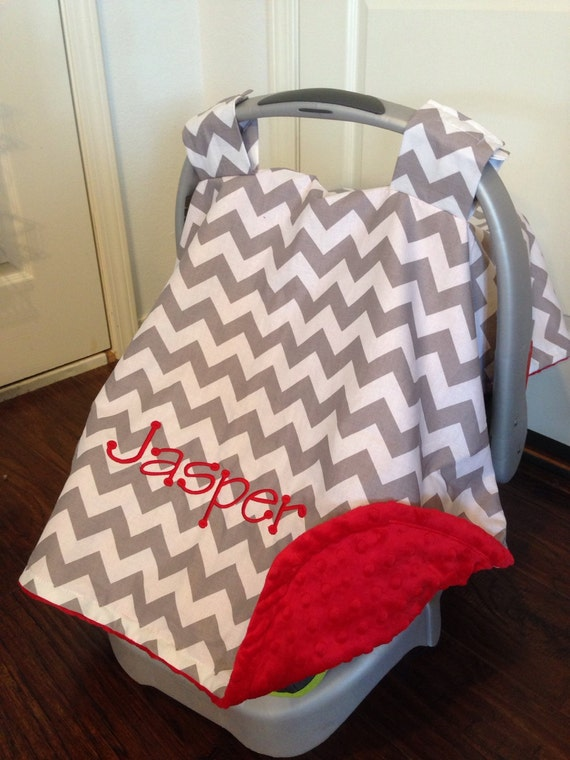 Like this item? & Personalized Car seat canopy boy or girl carseat cover