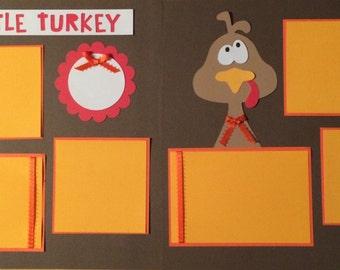 Little Turkey 2 page kit