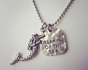 Dreaming of the Sea Charm Necklace