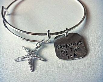 Dreaming of the Sea Charm Bangle