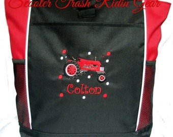 PERSONALIZED Farm Tractor  Tote Bag diaper baby beach   New FREE SHIPPING
