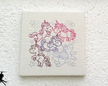 Unicorn - Wall deco Wall art