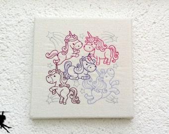Unicorn - Wall deco Wall art
