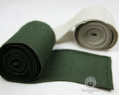ON STOCK! Leg wraps for Viking reconstructors of middle age. 100% linen. Wickelbander Historical sources