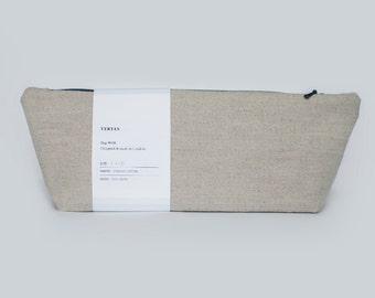 SALE - Organic linen wash bag
