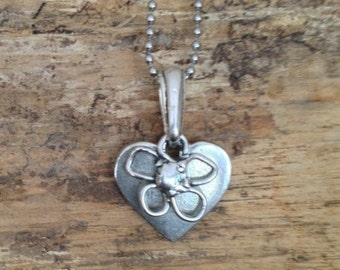"""Sweet Layered Daisy Necklace - 18"""""""
