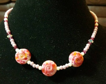 Cherry Bomb Necklace and Earring Set